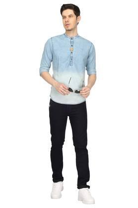 Mens Mao Collar Assorted Shirt