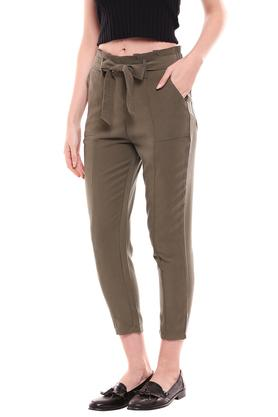 KRAUS - OliveTrousers & Pants - 2