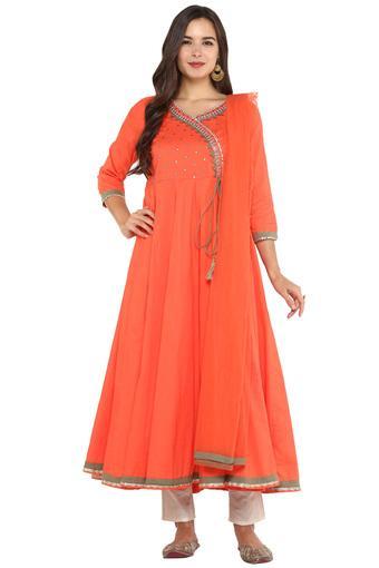 HAUTE CURRY -  RustSalwar & Churidar Suits - Main