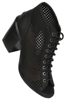 Womens Casual Wear Laceup Heels