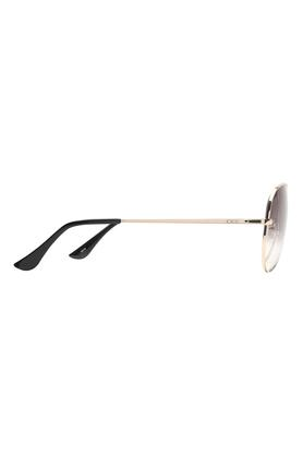 Unisex Full Rim Aviator Sunglasses