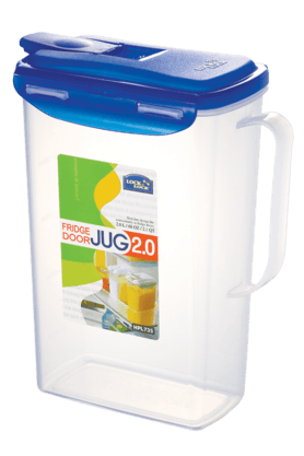 LOCK & LOCK Aqua Fridge Door Water Jug With Flip Top Lid - 2 Litres