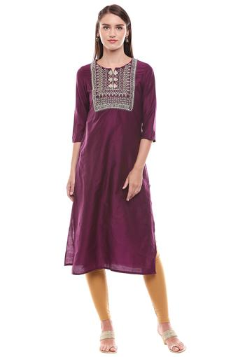 KASHISH -  Purple  STOP, KASHISH, HAUTE CURRY, BACK TO EARTH, SANAA - Buy 2 Get 50% Off - Main