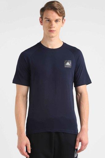ADIDAS -  BlueT-Shirts - Main