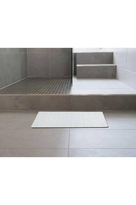 Rectangular Check Textured Shower Mat