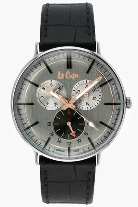Mens Chronograph Leather Watch - 6383331