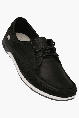 CLARKSMens Orson Leather Lace Up Casual Shoe