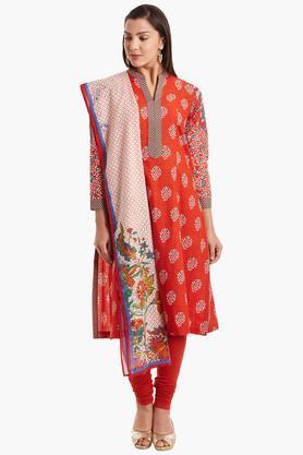 BIBAWomens Cotton A-Line Suit Set - 202179792