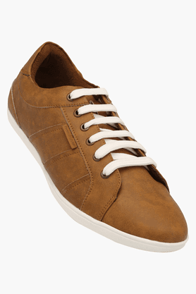 FRANCO LEONE Mens Leather Lace Up Casual Shoe - 200940792