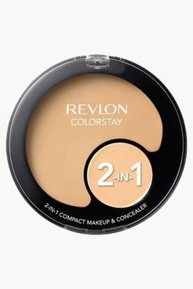REVLONWomens Colorstay 2 In 1 Compact Make Up & Concealer