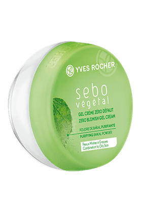 YVES ROCHER SEBO VEGETAL - ZERO BLEMISH GEL CREAM 50ML