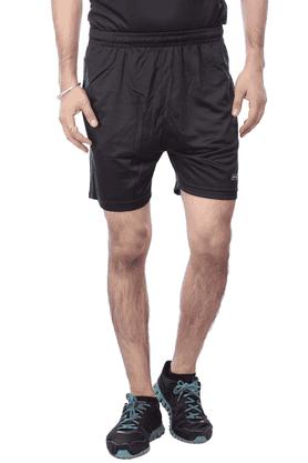 BLACK PANTHERMens 2 Pocket Solid Shorts