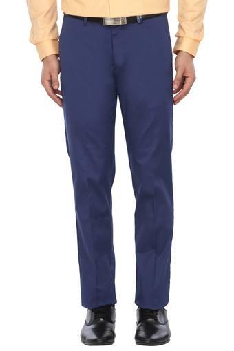 LOUIS PHILIPPE -  NavyFormal Trousers - Main