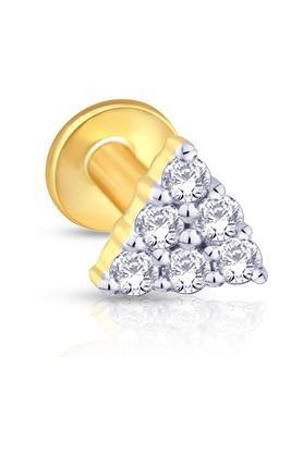 MALABAR GOLD AND DIAMONDSWomens Mine Diamond Nosepin NP51277