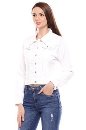 KRAUS - White Casual Jackets - 2