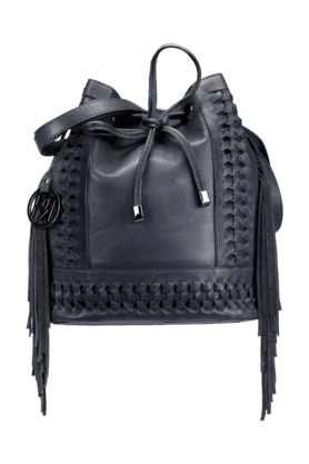 PHIVE RIVERS Womens Leather Rucksack Closure Shoulder Bag (Use Code FB20 To Get 20% Off On Purchase Of Rs.1800)