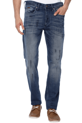 JACK AND JONES Mens 5 Pocket Stretch Jeans - 200763549