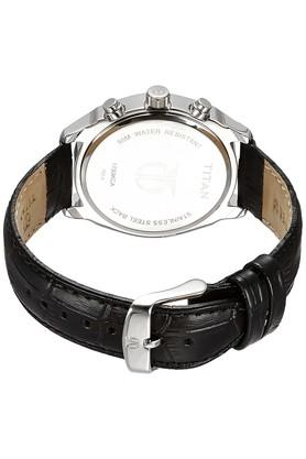 Mens Multi-Function Leather Watch - NK1733KL01