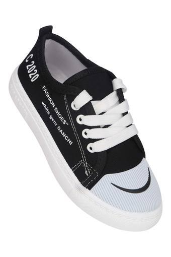 KITTENS -  Black Casuals Shoes - Main