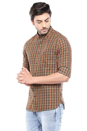 FCUK - Brown Casual Shirts - 2