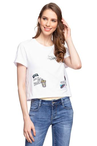 DEAL JEANS -  WhiteTops & Tees - Main