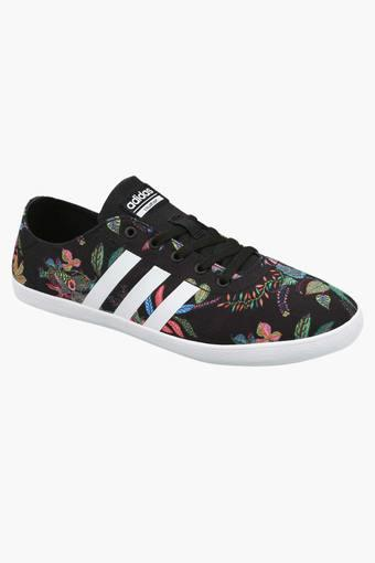 Buy ADIDAS Womens Canvas Lace Up Sneakers  0aca92d946