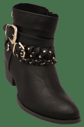 Womens Casual Zipper Closure Boot
