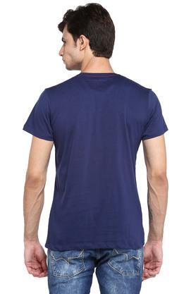 Mens Round Neck Superman Print T-Shirt