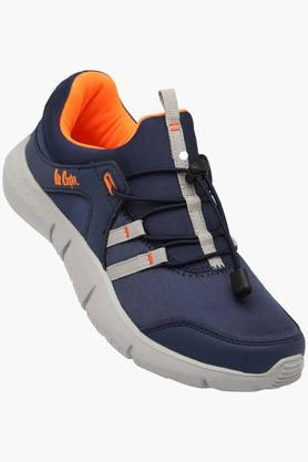 LEE COOPERMens Synthetic Lace Up Sports Shoes