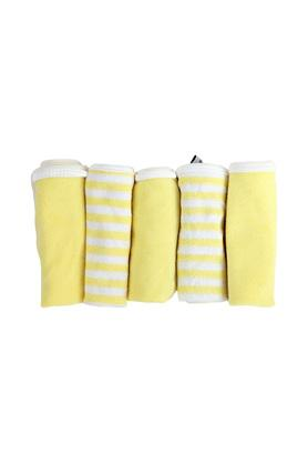 Kids Solid and Striped Napkin - Set of 5