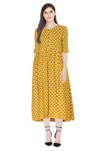 HAUTE CURRY -  Yellow Kurtas - Main