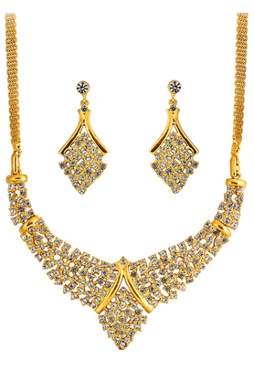 TOUCHSTONE Necklace Set - 9575993