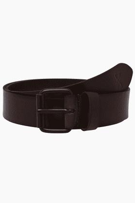 LIFEMens Leather Single Side Formal Belt