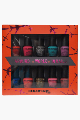 COLORBAR Pro Mini Nail Laquer Around The World Nail Kit