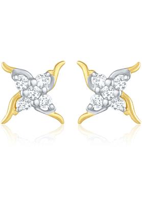 MAHIMahi Gold Plated Earrings With CZ For Women ER1103808G