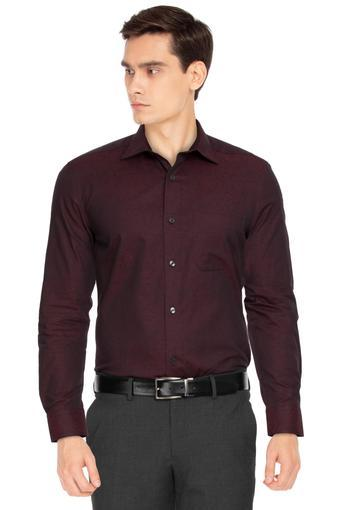 LOUIS PHILIPPE -  MaroonShirts - Main