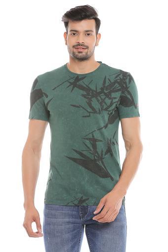 BEING HUMAN -  Leaf GreenT-shirts - Main