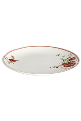 DEVON NORTH Red Poppy Side Plate