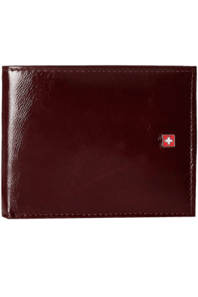 SWISS MILITARY Brown Men's Wallet (LW-21)