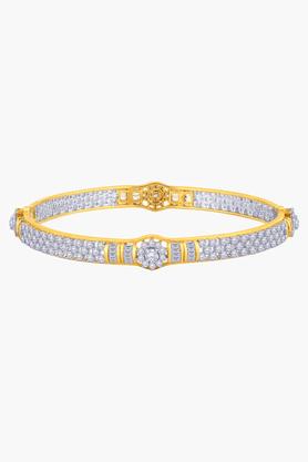 MALABAR GOLD AND DIAMONDSWomens 18 KT Gold And Diamond Bangle - 201203583