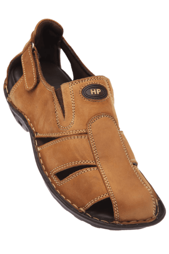 23b636977 Buy HUSH PUPPIES Mens Leather Sandal
