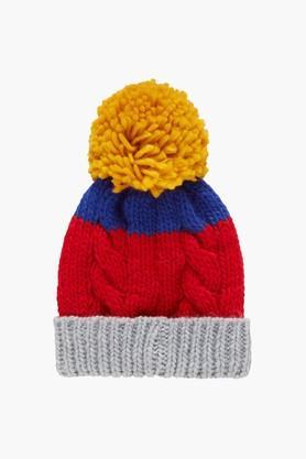 Boys Multi Coloured Beanie Hat