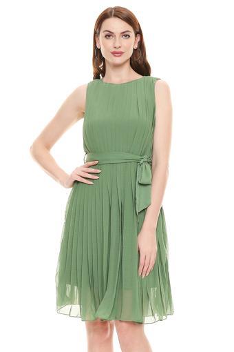 VERO MODA -  Leaf GreenDresses - Main