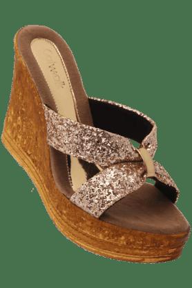 CATWALKWomens Casual Slipon Wedge Sandal