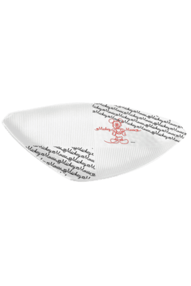 Mickey Line Art - Triangular Platter