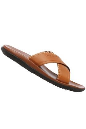 LOUIS PHILIPPE - Brown Sandals & Floaters - 1