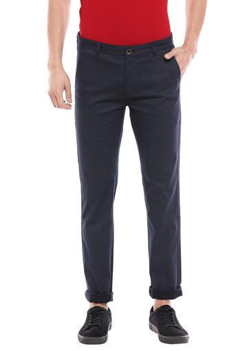 STOP -  NavyCasual Trousers - Main