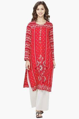 GLOBAL DESI Womens Printed Kurta