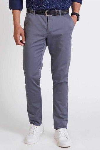 INDIAN TERRAIN -  GreyCasual Trousers - Main