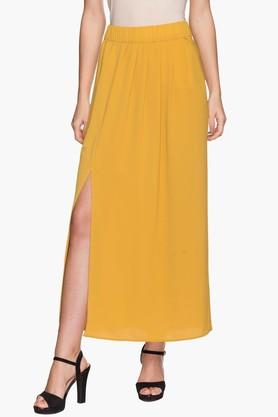 ONLY Womens Solid Long Skirt (Buy For Rs.5000/- And Get Rs.1000/- Off)